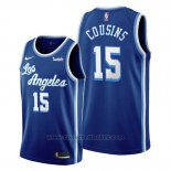 Maglia Los Angeles Lakers Demarcus Cousins #15 Classic Edition 2019-20 Blu