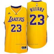 Maglia Los Angeles Lakers Lou Williams #23 Giallo