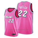 Maglia Miami Heat Jimmy Butler #22 Earned 2019 Rosa