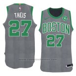 Maglia Natale 2018 Boston Celtics Daniel Theis #27 Verde