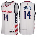 Maglia Washington Wizards Jason Smith #14 2016-17 Bianco