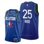 Maglia All Star 2020 Detroit Pistons Derrick Rose #25 Blu