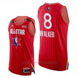 Maglia All Star 2020 Eastern Conference Kemba Walker #8 Rosso