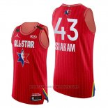 Maglia All Star 2020 Eastern Conference Pascal Siakam #43 Rosso
