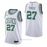 Maglia Boston Celtics Daniel Theis #27 Association Bianco