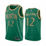 Maglia Boston Celtics Grant Williams #12 Citta Verde