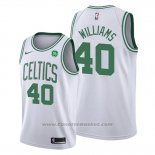 Maglia Boston Celtics Grant Williams #40 Association 2019-20 Bianco