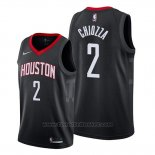 Maglia Houston Rockets Chris Chiozza #2 Statement Nero