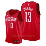 Maglia Houston Rockets James Harden #13 Earned 2019 Rosso