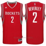 Maglia Houston Rockets Patrick Beverley #2 Rosso