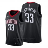 Maglia Houston Rockets Robert Covington #33 Statement 2019-20 Nero