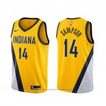 Maglia Indiana Pacers Jakarr Sampson #14 Statement 2019-20 Giallo
