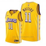 Maglia Los Angeles Lakers Dion Waiters #11 Citta 2020 Or