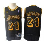 Maglia Los Angeles Lakers Kobe Bryant #24 Retro Hardwood Classics Nero