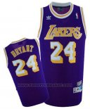 Maglia Los Angeles Lakers Kobe Bryant #24 Retro Viola