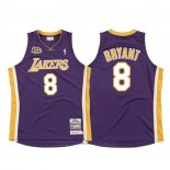 Maglia Los Angeles Lakers Kobe Bryant #8 2000-01 Finals Viola