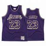 Maglia Los Angeles Lakers LeBron James #23 2020 Chinese New Year Throwback Viola
