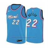 Maglia Miami Heat Jimmy Butler #22 Earned 2019 Blu
