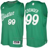 Maglia Natale 2016 Boston Celtics Jae Crowder #99 Veder