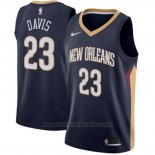 Maglia New Orleans Pelicans Anthony Davis #23 Icon 2017-18 Blu