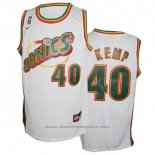 Maglia Seattle SuperSonics Shawn Kemp #40 Historic Bianco