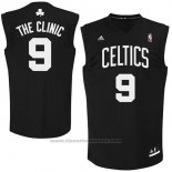 Maglia Soprannome Boston Celtics The Clinic #9 Nero