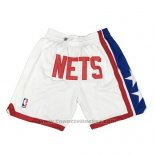 Pantaloncini Brooklyn Nets Just Don 2019 Bianco