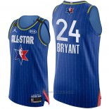 Maglia All Star 2020 Los Angeles Lakers Kobe Bryant #24 Autentico Blu