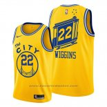 Maglia Golden State Warriors Andrew Wiggins #22 Classic 2019-20 Giallo