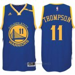 Maglia Golden State Warriors Klay Thompson #11 Blu