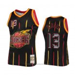 Maglia Houston Rockets James Harden #13 Nero