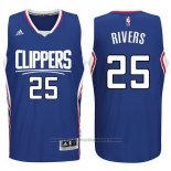 Maglia Los Angeles Clippers Austin Rivers #25 Blu