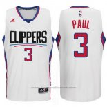 Maglia Los Angeles Clippers Chris Paul #3 Bianco