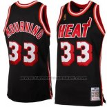 Maglia Miami Heat Alonzo Mourning #33 Retro Nero