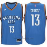 Maglia Oklahoma City Thunder Paul George #13 Blu