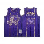 Maglia Toronto Raptors Vince Carter #15 2020 Chinese New Year Throwback Viola