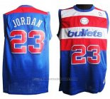 Maglia Washington Wizards Michael Jordan #23 Retro Blu