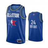 Maglia All Star 2020 Los Angeles Lakers Kobe Bryant #24 Blu