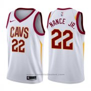 Maglia Cleveland Cavaliers Larry Nance Jr. #22 Statement 2017-18 Nero