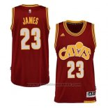 Maglia Cleveland Cavaliers Lebron James Alternate Rosso