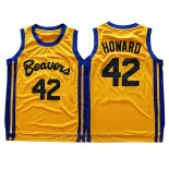 Maglia Film Beavers Dwight Howard #42 Giallo