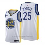 Maglia Golden State Warriors Chasson Randle #25 Association 2020 Bianco