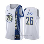Maglia Indiana Pacers Jeremy Lamb #26 Citta Bianco
