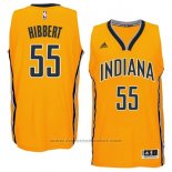 Maglia Indiana Pacers Roy Hibbert #55 Giallo