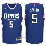 Maglia Los Angeles Clippers Josh Smith #5 Blu