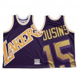 Maglia Los Angeles Lakers Demarcus Cousins #15 Mitchell & Ness Big Face Viola
