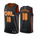 Maglia Orlando Magic Evan Fournier #10 Citta Edition Nero2