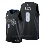 Maglia Orlando Magic Terrence Ross #8 Citta Nero