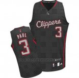 Maglia Ritmo Moda Los Angeles Clippers Chris Paul #3 Nero