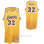 Maglia Soprannome Los Angeles Lakers Orlando Magic #32 Giallo